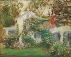 A poem, The vine covered cottage