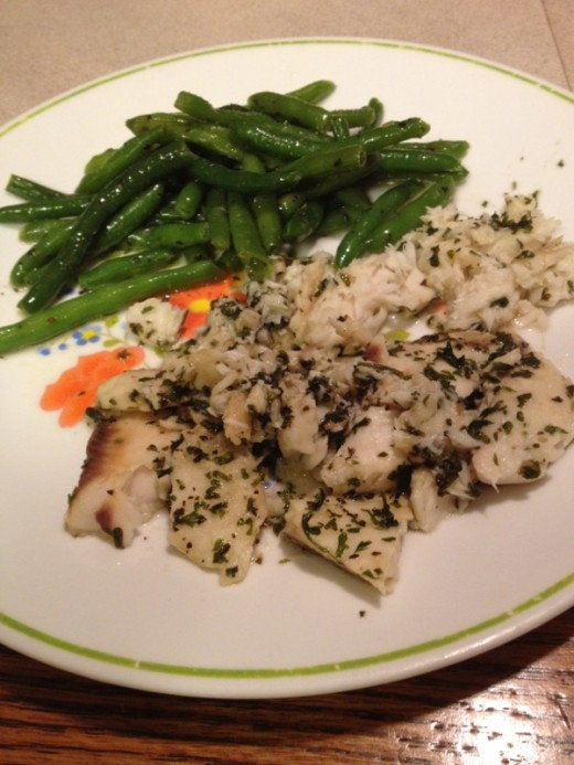 Grilled Tilapia with Green Beans