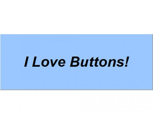 This is what the button looks like at the moment, but you can change it!