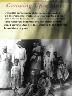 A slave's life was only partially their own.  So were their children's on a southern plantation.