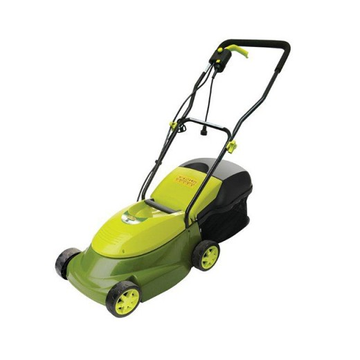 "Sun Joe 14"" Electric Lawn Mower with Grass Box"