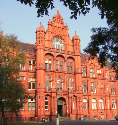 Peel Building University of Salford. Built as The Royal Technical Institute, Salford