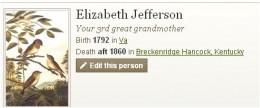 Elizabeth Jefferson