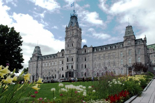 Parliament Building of Quebec, seat of the Quebec National Assembly