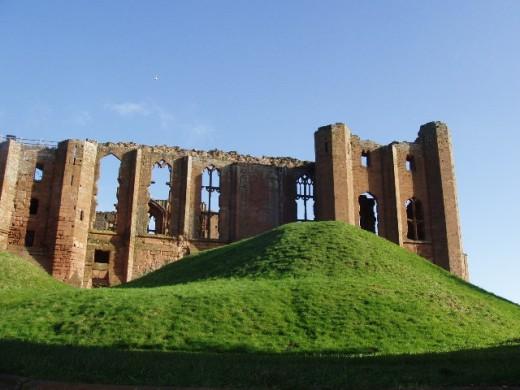 Ruins of Kenilworth, one of John of Gaunt's homes.