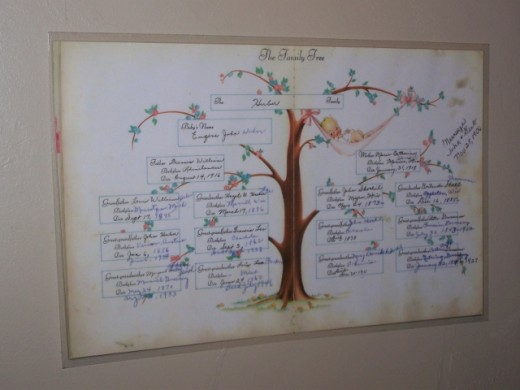 Baby Book Family Tree