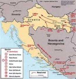 Plitvica was a target during the War for the Homeland (Domovinski Rat) in 1991