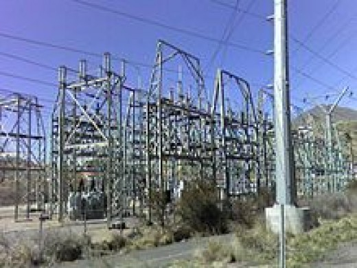Electric Power Substation | image credit: Wikipedia