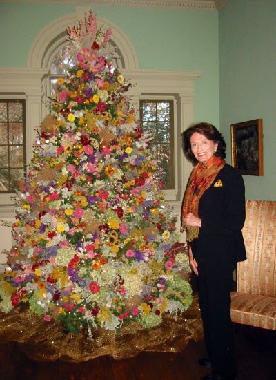 Floral - Dried Flowers Add to Tree for Decorating for the Holiday