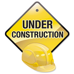 """We are all """"under construction!"""""""