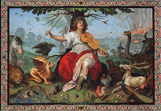 Orpheus, The Great Bard
