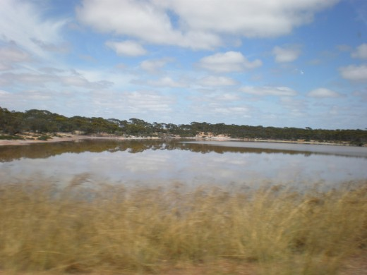 Pictures of Australia. Western Australia´s highway scenery.