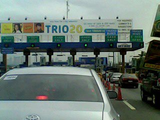 Toll gate at Magallanes, Pasay, Manila