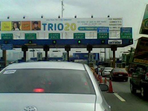 Toll gate at Magallanes, Pasay, Manila