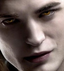 The eyes of vampires are captivating, sexy, lust-inducing. Try to resist them!