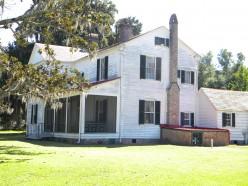 Hofwyl-Broadfield Plantation house.  another Rice plantation near Darien, Ga.
