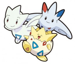 Togepi, Togetic and Togekiss - the Togepi evolution family!