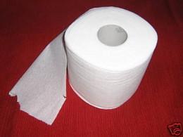 Opened toilet paper on eBay