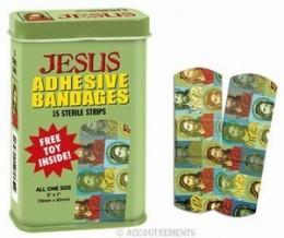 Jesus bandages/band-aids on eBay