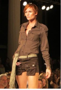 Runway Fashion Model