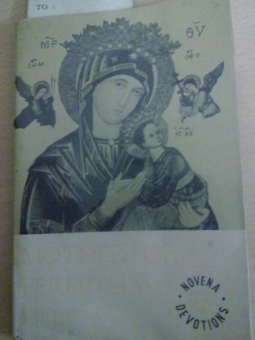 Novena booklet