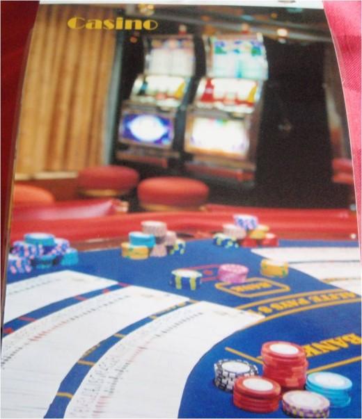 The Casino aboard The Aquamarine