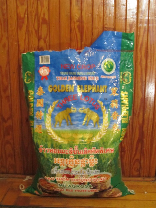 This Bag of Rice Can Feed A Lot of People! 50 Pounds (lbs) goes a Long Way!