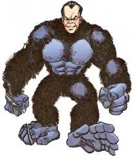 Gorilla Man - Head of man, body of a gorilla