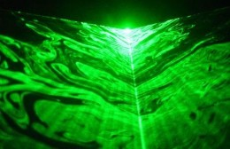 European scientists are on a quest to use ten super lasers to tear apart a tiny region of space time in order to collect anti-matter. Each laser can put out 20 petawatts of power. They also hope to prove some theories in the process.