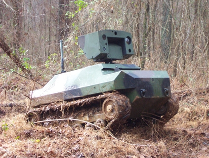 Gladiator Tactical Unmanned Ground Vehicle at Redstone Arsenal.