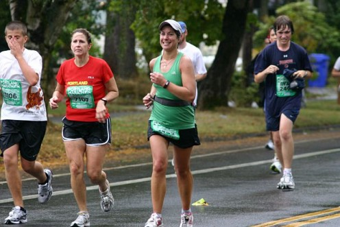 Running my first full marathon in 2008