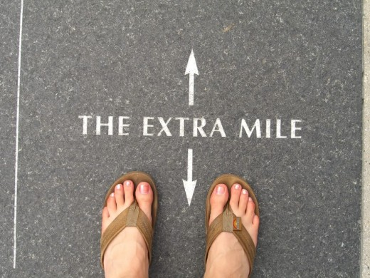 David always went that extra mile!