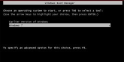 There are two simple methods to remove the dual boot menu entry.