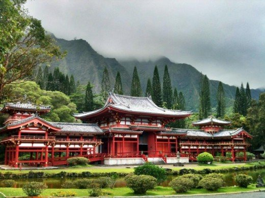 Byodo Temple - Temple Valley Oahu