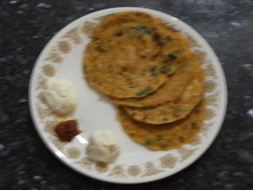 Pudla - Two Minute Gujarati Pancake