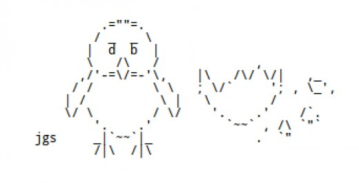Simple One Line Ascii Art : Simple ascii art bing images