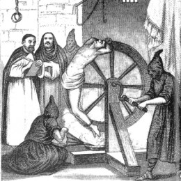 The Inquisitors of the Catholic Church were adept at torture, employing many techniques to get people to confess to consorting with the devil or of practicing witchcraft.