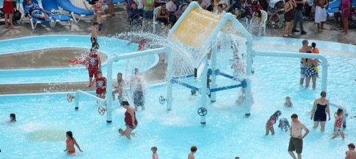 Soak city inside the theme park