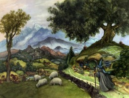 Bag End and the Shire