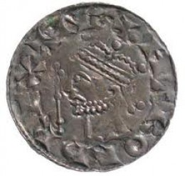 A fine silver coin minted for Harold during his reign...