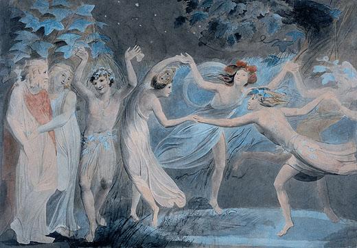 William Blake's Elves