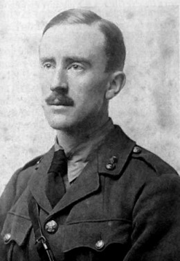 Tolkien in uniform