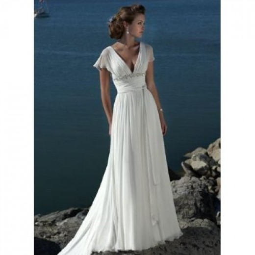 Wedding dresses for your body shape hubpages for Wedding dresses for pear shaped women