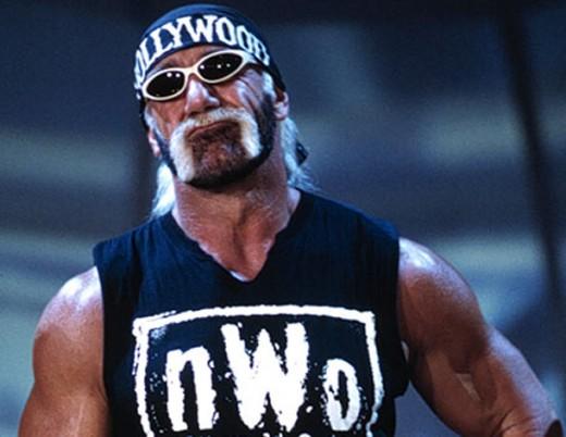 Hulk Hogan as leader of NWO