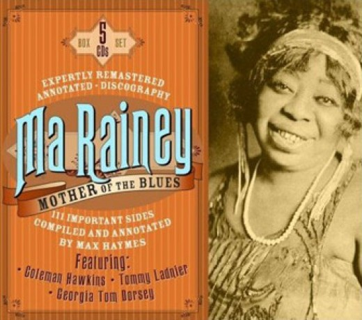 Ma Rainey Album Cover