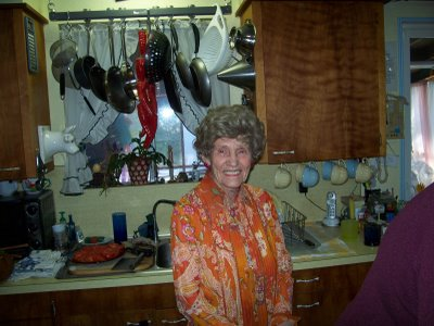 Mom's 89th BD at my house