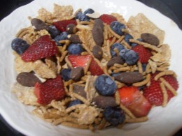 Look at that colorful cereal!