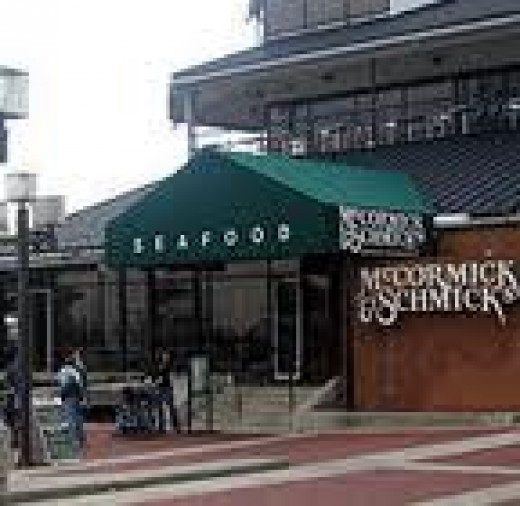 McCormick & Schmick's Grill. Pier 5