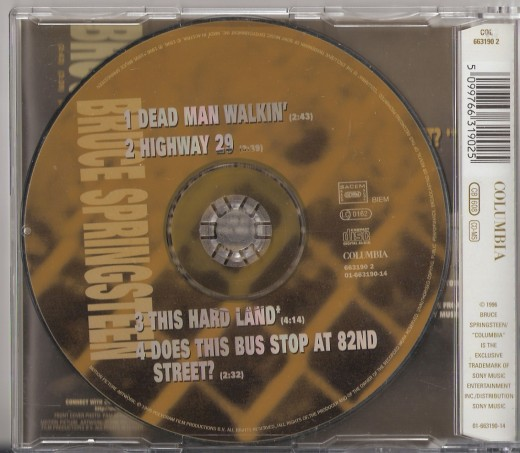 U.K. CD single