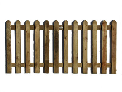 Pointed-pickets fencing panel